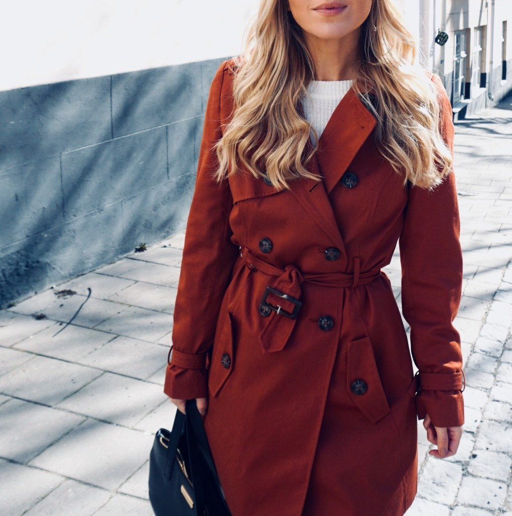 Julia Linn Red Coat