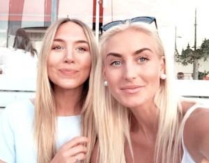 Photo of Julia Linn and Emmelie Rudberg