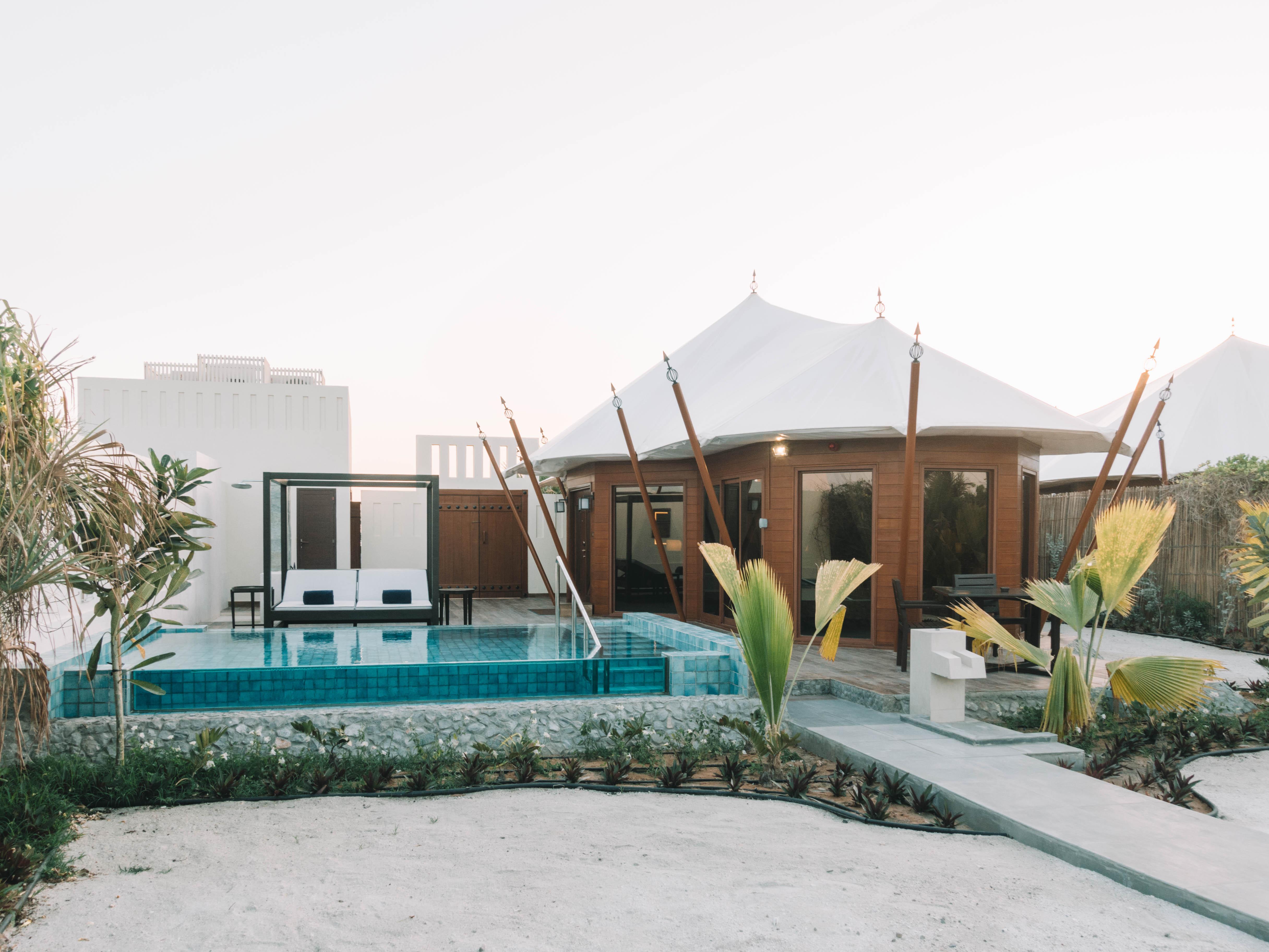 Ritz-Carlton Al Hamra villa