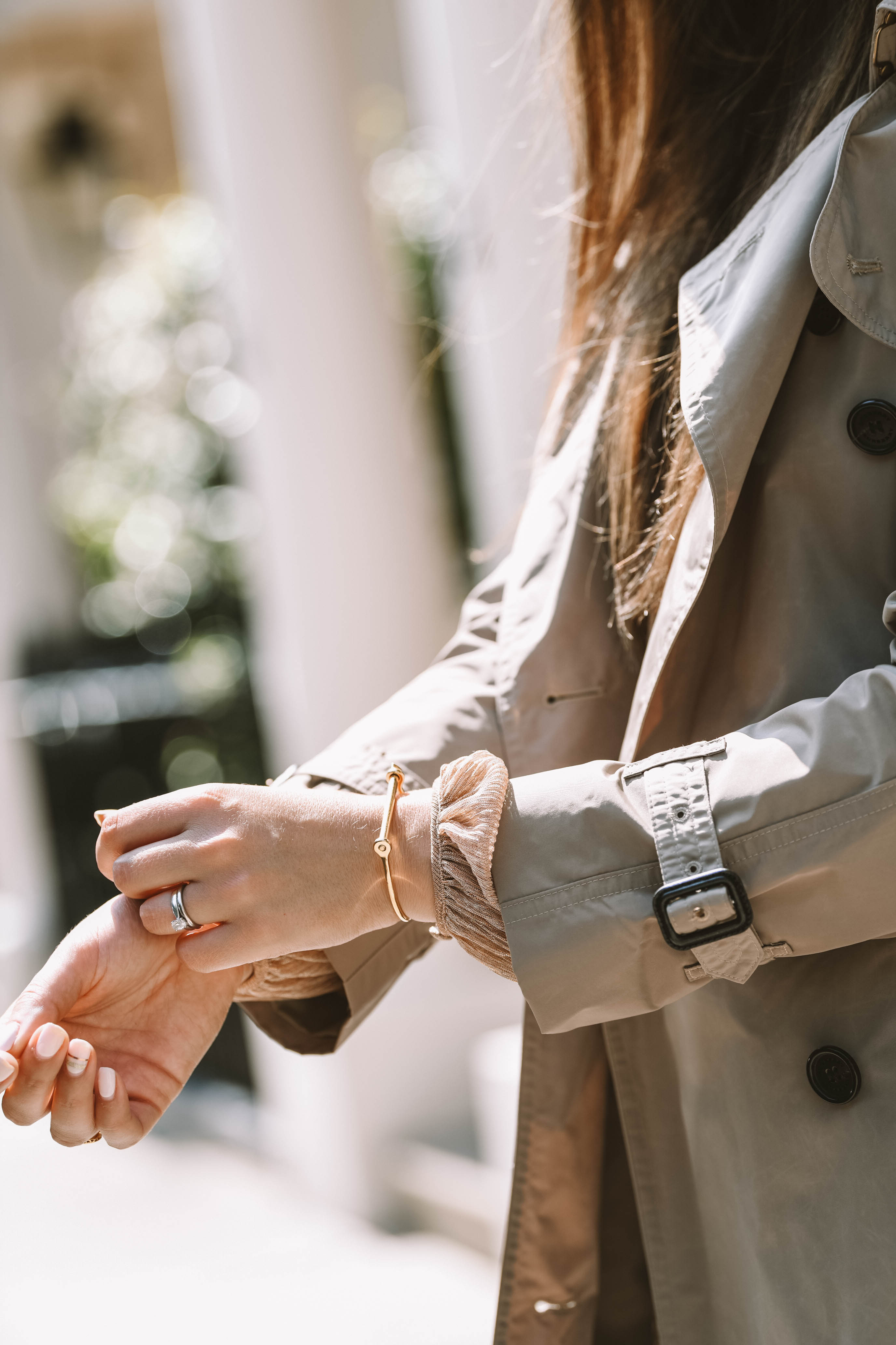 Burberry sleeve details