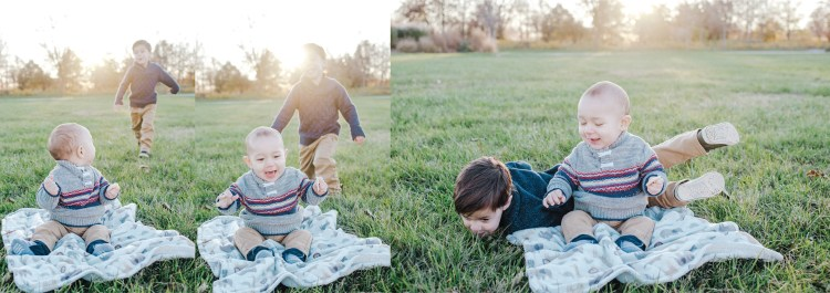 let your kids misbehave during family photo session. Let your kids run free. Enjoy your family time together and all the giggles that come with it.