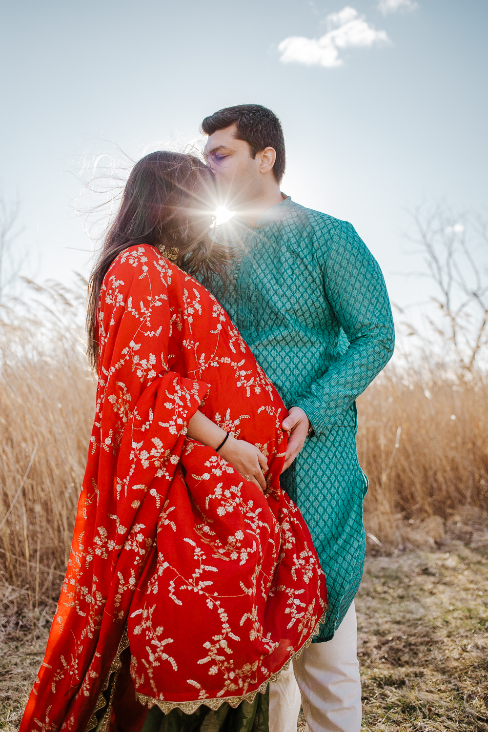 indian maternity session in New Jersey