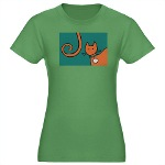Head and Tail Grn T-shirt
