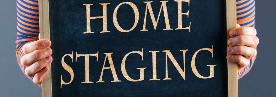 Home staging for a quick sale.