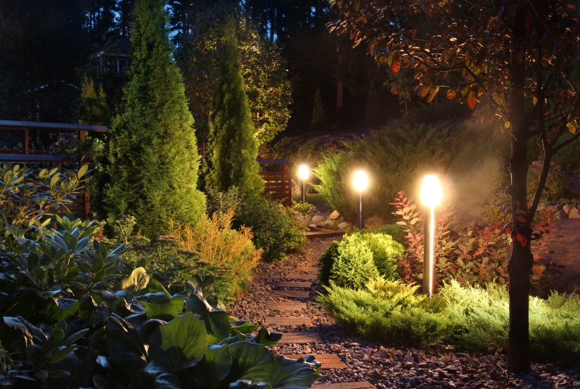 Safe outdoor lighting