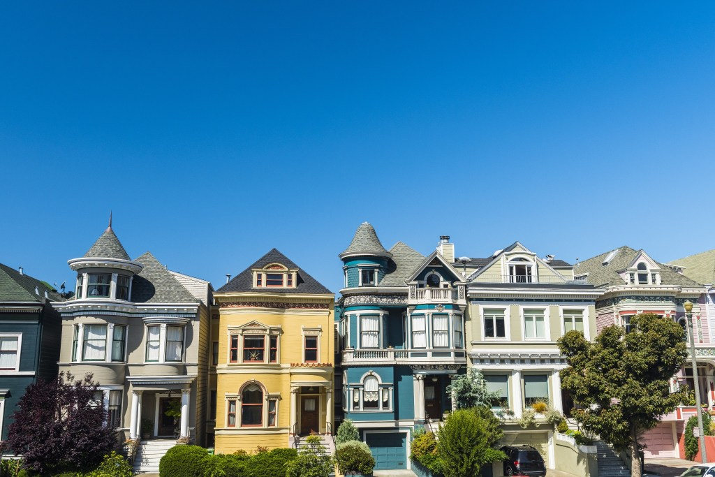 Victorian Painted Ladies are stunning examples of architecture.