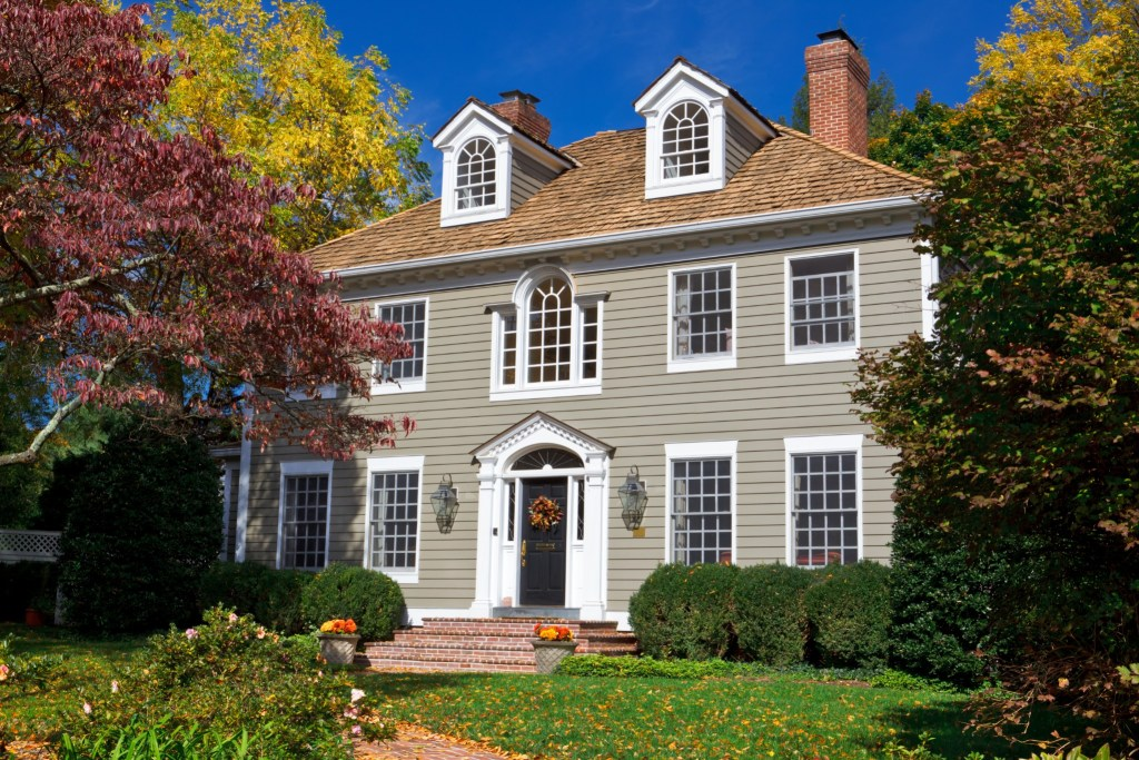 The Colonial is a favorite Portland architectural home style for sure!