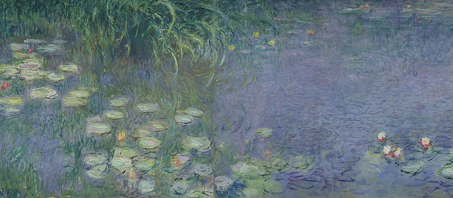 waterlilies-morning-claude-monet