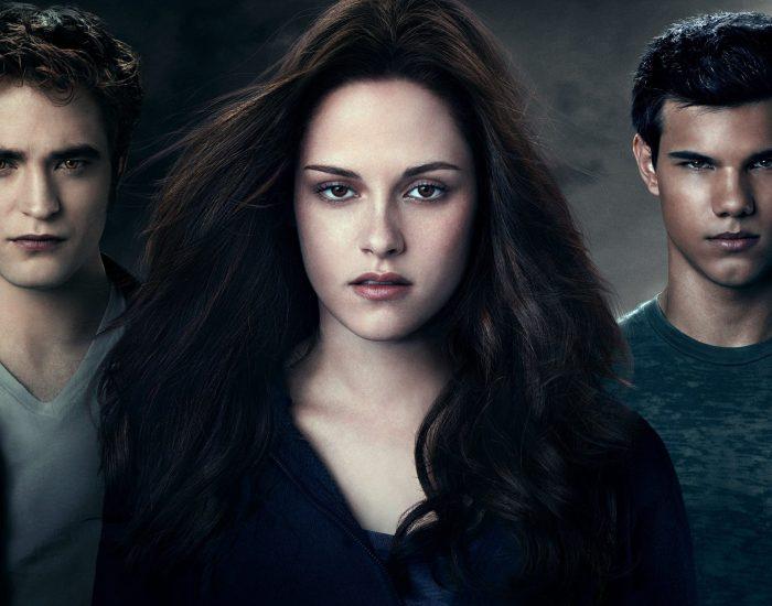 Twilight Saga: Eclipse. Edward, Bella and Jacob