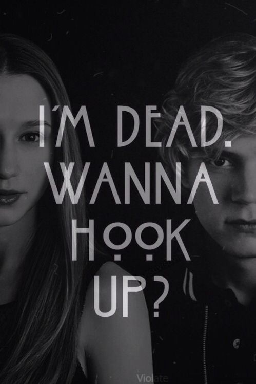 AHS: Season 1. Tate and Violet