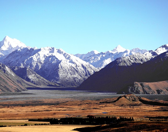 New Zealand. Landscape. Mountains