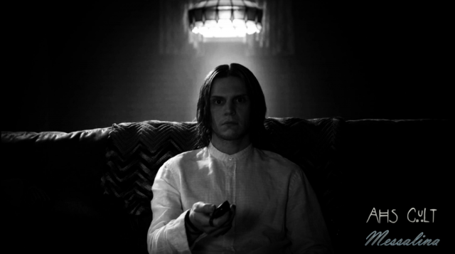 AHS: Cult. Evan Peters as Kai Anderson.