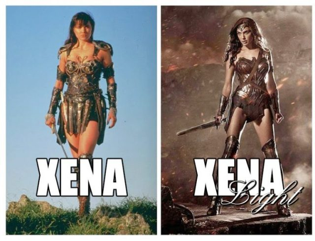 Xena vs Xena Light