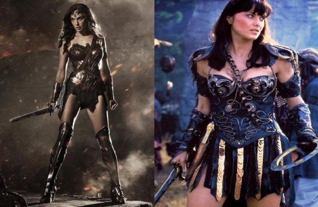 Xena and Wonder Woman