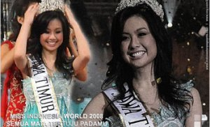 Miss Indonesia ?!? You're so Beautiful, You Scare Me