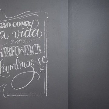 newest 0c005 53efb Parede Lousa - Olho mágico no GNT - Juliana Moore