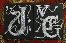 Art Nouveau - Initials