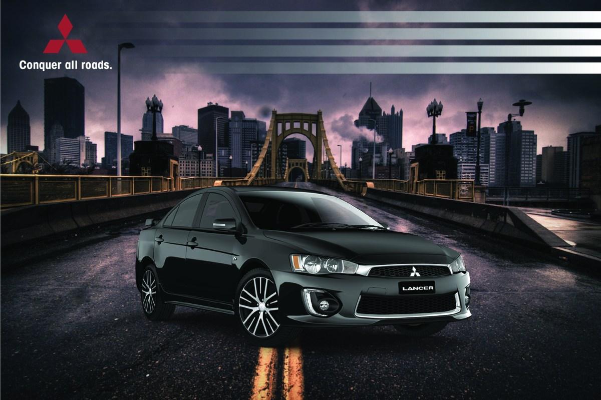 """Mitsubishi Lancer Ad """"Conquer all roads."""" – juliancatalfo"""