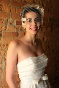 Bride in windowlight