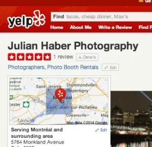 JHP on Yelp