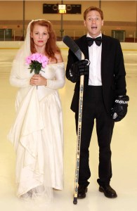 Let's get married! On skates???