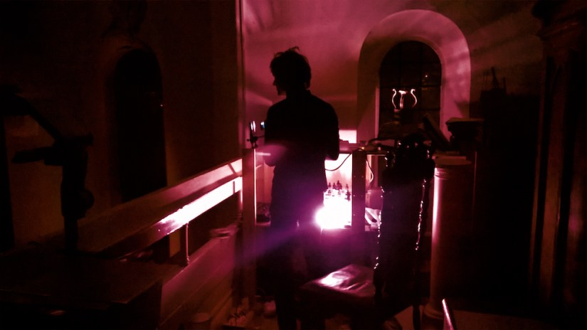 Julian Hand - MIE RECORDS - St Pancras Old Church - London
