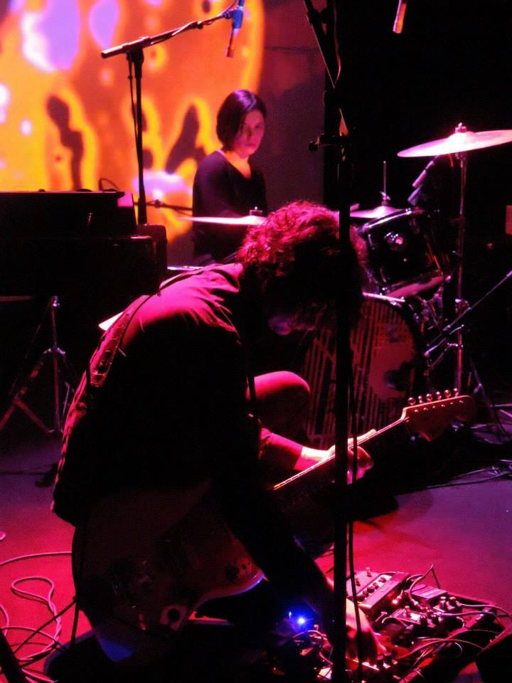 Band Photo Gallery - The Oscillation - Light Show - Julian Hand