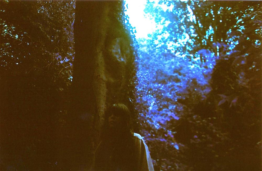 Emma Tricca - Hill Garden and Pergola - Hampstead Heath - Phot Shoot - Julian hand - Purple Chrome - Lomo - Lomography