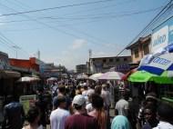 Accra Innenstadt, am Rande des Marktes