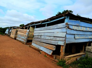 Schule in Ojobi -