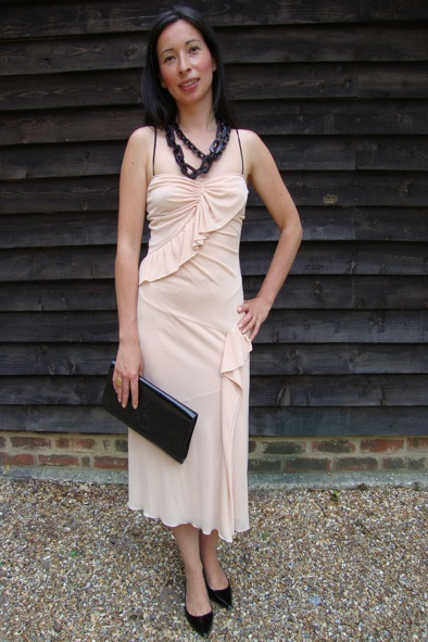 Prada pale pink dress
