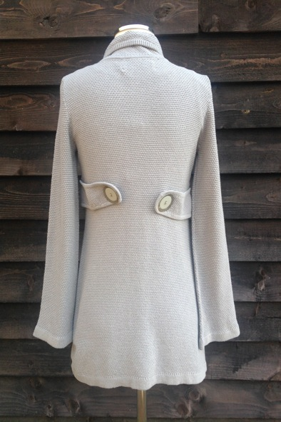 "Goat Library ""Garbo"" knitted coat"