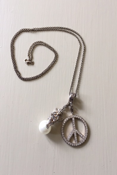 Thomas Sabo charms on necklace