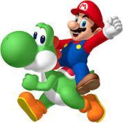 Yoshi and Super Mario