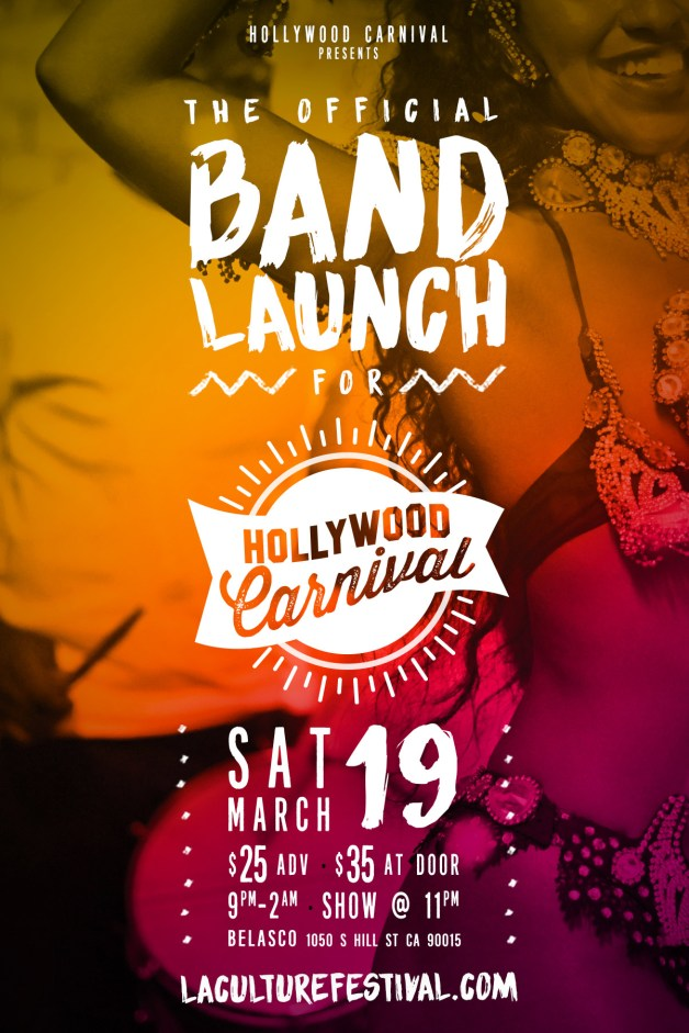 2016 Hollywood Carnival Band Launch 1