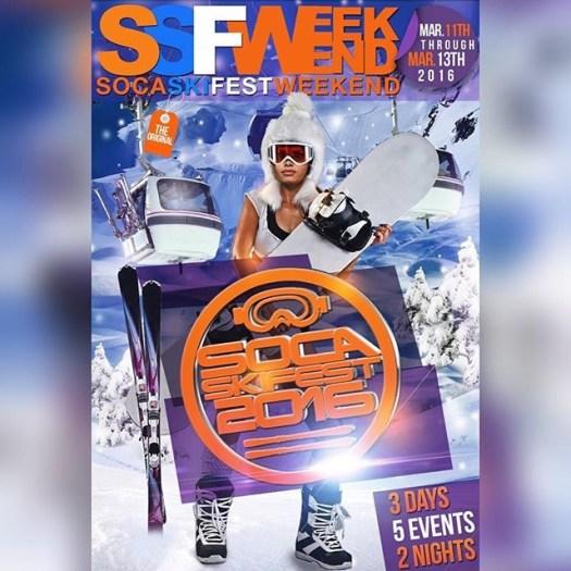 Soca Ski Fest 2016