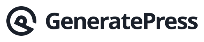 WordPress Theme - GeneratePress