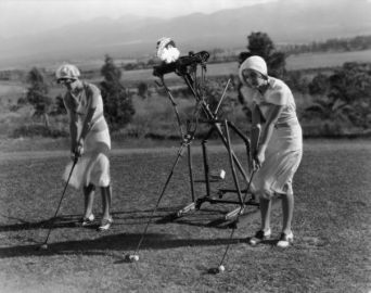First automatic golf coach 1924