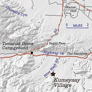 Mine Wash Kumeyaay Site