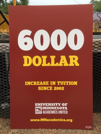 Tuition costs up