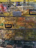 Lobster cages at Isleford Ferry Landing