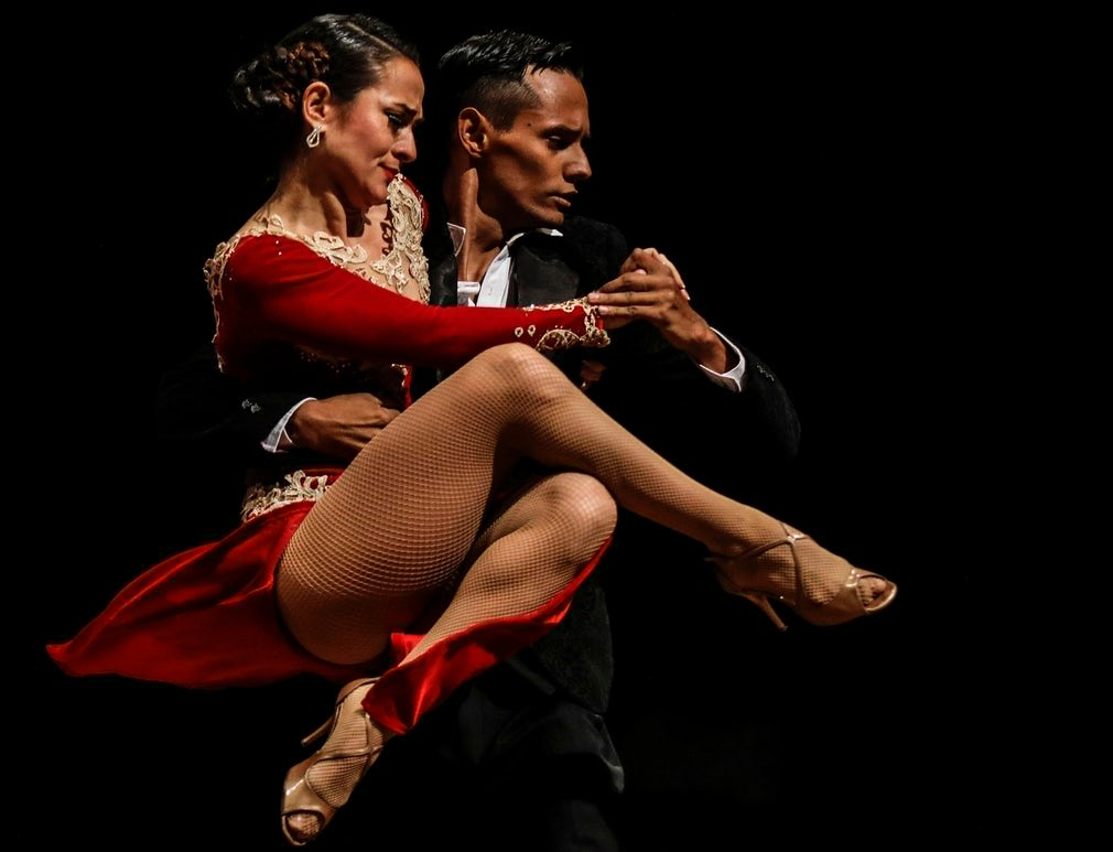 Colombia tango festival thrills dance lovers in Medellín – in pictures