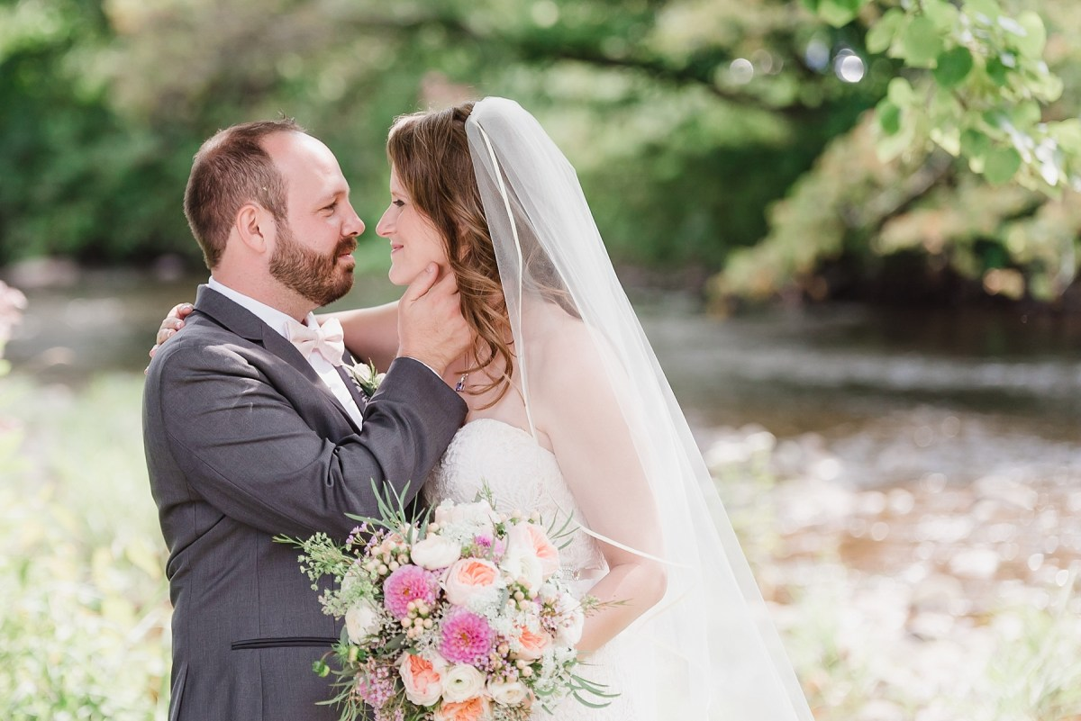 Glowing Hudson Valley Mountain Top Wedding