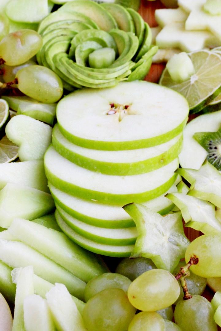 green fruit platter 3