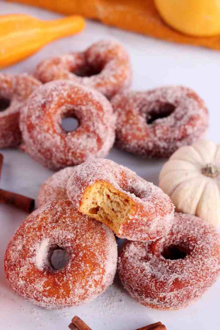 pumpkin donuts doughnut