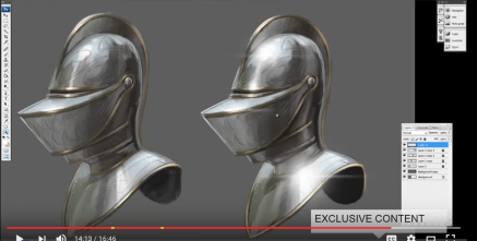 Jesus Conde - Paint Armor in Photoshop