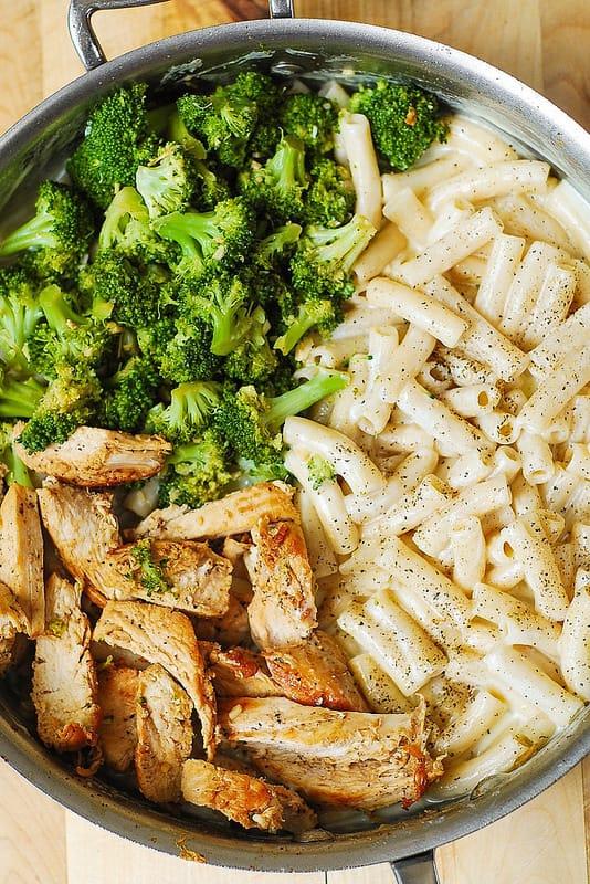 Broccoli Pasta Alfredo