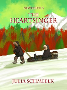 NewEarth3 - The Heartsinger - by Julia Schmeelk