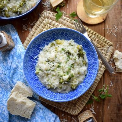 Creamy Broccoli Risotto
