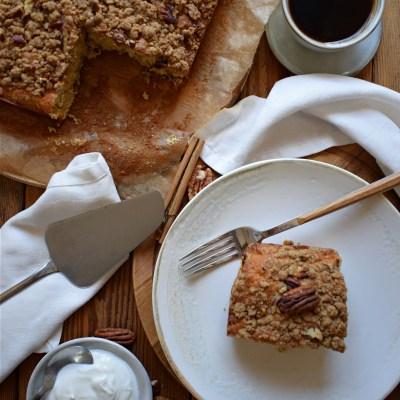 Pecan Strudel Snacking Cake